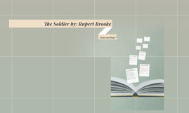 The Soldier by: Rupert Brooke