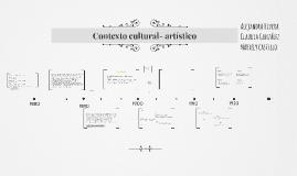Contexto cultural- artistico