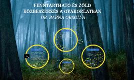 Copy of Copy of FENNTARTHATÓ ÉS ZÖLD KÖZBESZERZÉS