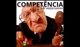 JURISDIÇÃO E COMPETÊNCIA