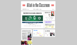 Allah in the classroom