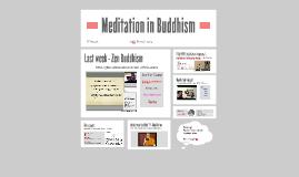 Meditation in Buddhism