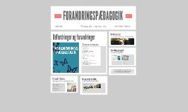 Forandringspædagogik på Fredensborg Skole