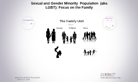 Sexual and Gender Minority Population (aka LGBT):  Focus on the Family