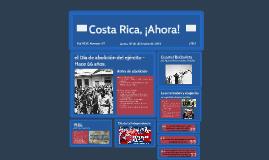 Costa Rica, Ahora!