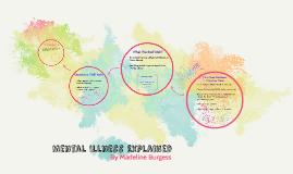 Mental Illness Explained