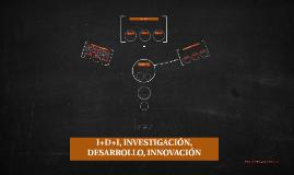 I+D+I, INVESTIGACIÓN, DESARROLLO, INNOVACIÓN