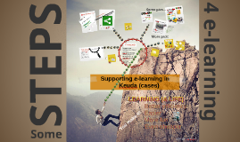 Supporting E-learning in Keuda (cases)
