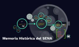 Memoria Histórica del SENA
