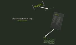 Picture of Dorian Gray - Con of Theme