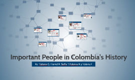 Important people in Colombia's history