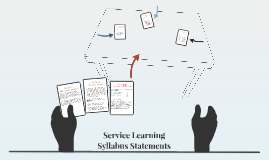 Service Learning Syllabus Statements