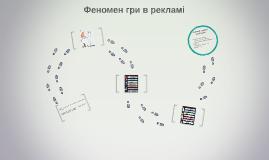 Об`єкт дослідження - гра в телевізійній рекламі у різних її