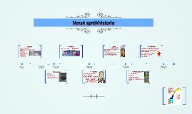 Copy of Norsk språkhistorie