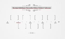 Meninjau Kehidupan Masyarakat Melayu Dahulu & Sekarang