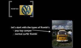 Volskwagon Kombi Van