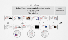 Copy of Brian Eno - 40 years of changing music