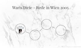 Waris Dirie - Rede in Wien 2005