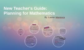 New Teacher's Guide: