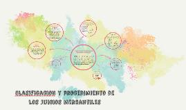Copy of Clasificacion y procedimiento de los juicios mercantiles
