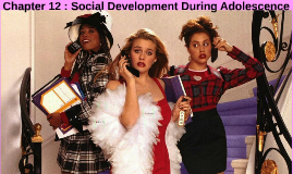 Chapter 12 : Social Development in Adolescence