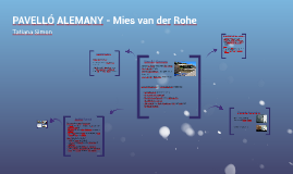 PAVELLÓ ALEMANY - Mies van der Rohe