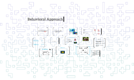 Copy of Behavioral Approach