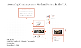 Assessing Contemporary Student Protest in the U.S.