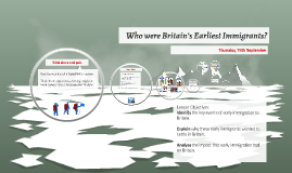 Who were Britain's Earliest Immigrants19 October 2015