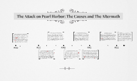The Attack on Pearl Harbor: The Causes and The Aftermath