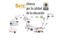 Copy of ALIANZA POR LA CALIDAD EDUCATIVA