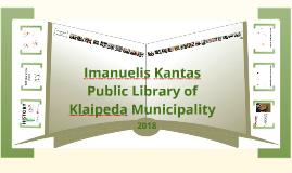 Public Library of Klaipeda Municipality