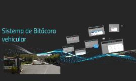 Sistema de Bitácora vehicular