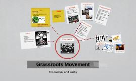 Grassroot Movements Eng 101