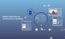 Copy of Mobile Application for Administrative Handbook