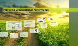 Organizational Performance (Turn-in)