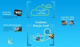 Copy of Instituto Desejo Azul