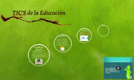 TIC'S de la Educación