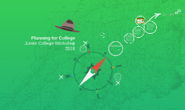 Planning for College: Junior Workshop 2014