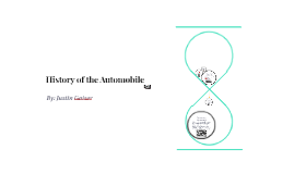 History of the Automobile