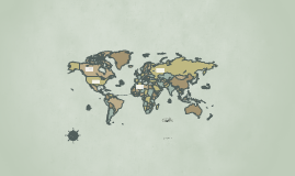 Vintage World Map (Template Source)