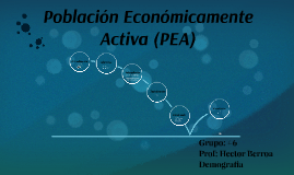 Copy of Poblacion Economicamente Activa