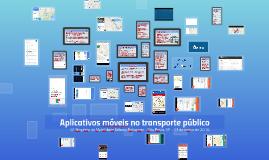 Aplicativos móveis no transporte público