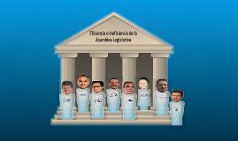 Deficiencia o eficiencia en la Asamblea Legislativa