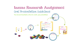 Issues Research Assignment-Oral Presentation Guidelines