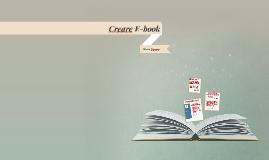 Creare E-book