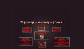 Wojny religijne w nowożytnej Europie