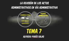 DAI19: Teoría de los Recursos Administrativos