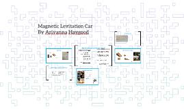 Magnetic Levitation Car