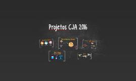 Projetos CJA 2016